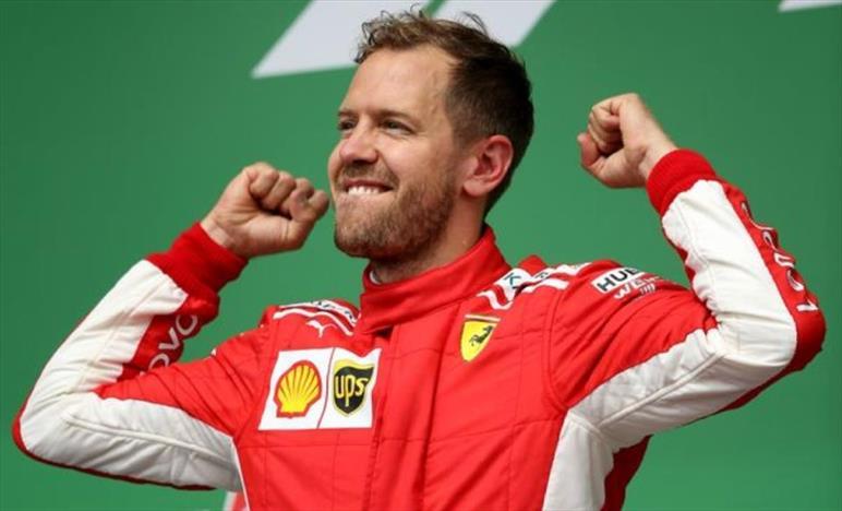 Vettel, grande vittoria, abbiamo scritto la storia della Ferrari