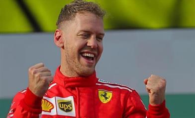 Vettel, grande vittoria, un po' po di fortuna ma grande macchina