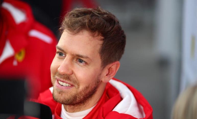 Vettel, la Ferrari c'è ma non si vede