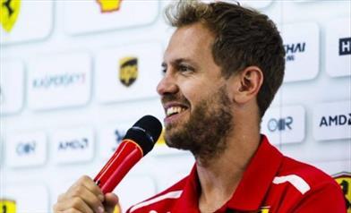 Vettel, la macchina va bene ma domani sarà meglio, oggi qualche problema
