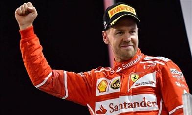 Vettel: niente vacanze, Titolo nel 2018