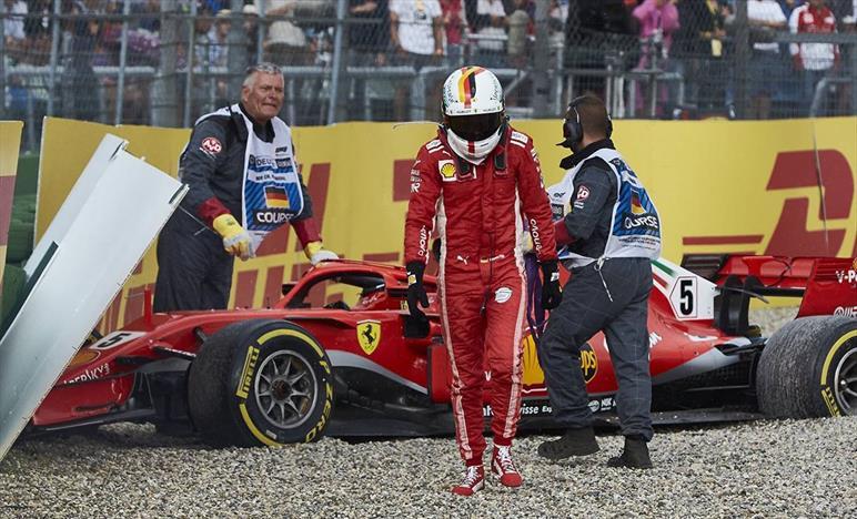 Vettel pronto per la riscossa ad Hockenheim