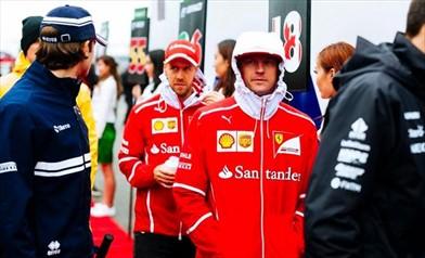 Vettel: Raikkonen non ha avuto fortuna