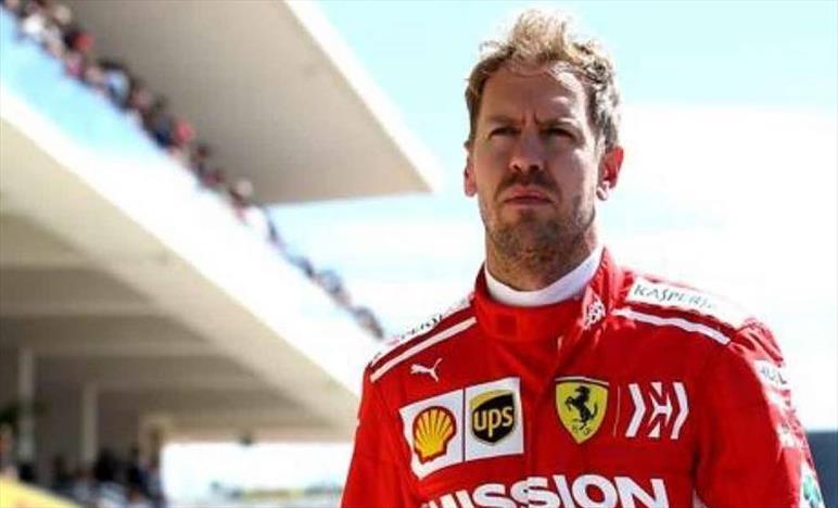 Vettel, SF90 fuori controllo