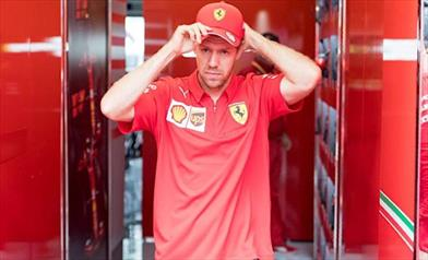 Vettel, Siamo lenti e ci manca carico, in gara speriamo nel caldo