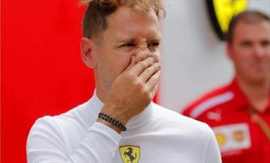 Vettel, tanti problemi oggi ma domani e Domenica saremo forti