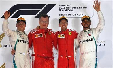 Vettel vince anche in Bahrain, ma che emozioni in gara... - Vettel vince anche in Bahrain, ma che emozioni in gara...