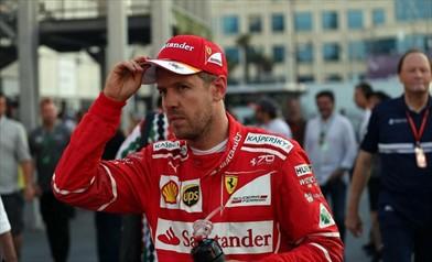 Vettel,la macchina ha dato buone sensazioni