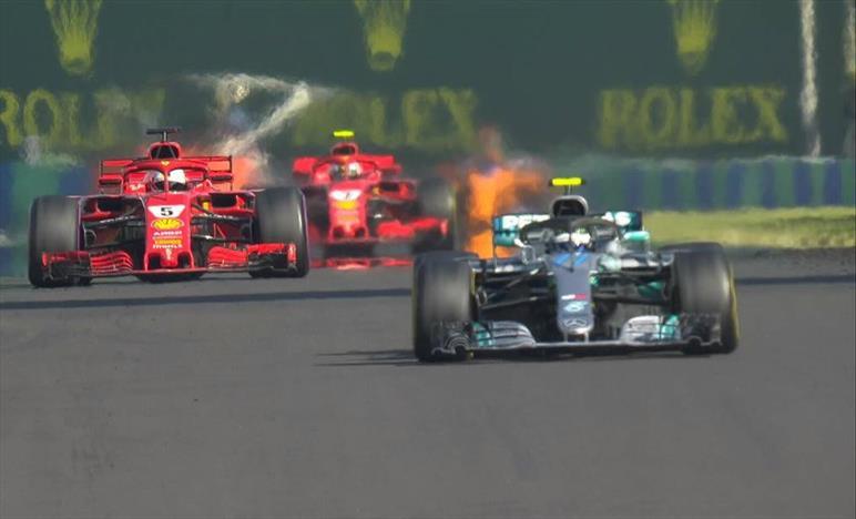 Vittoria fondamentale per Hamilton in Ungheria