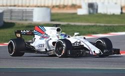 WILLIAMS FW40: T-Wing sulla pinna stabilizzatrice come Ferrari