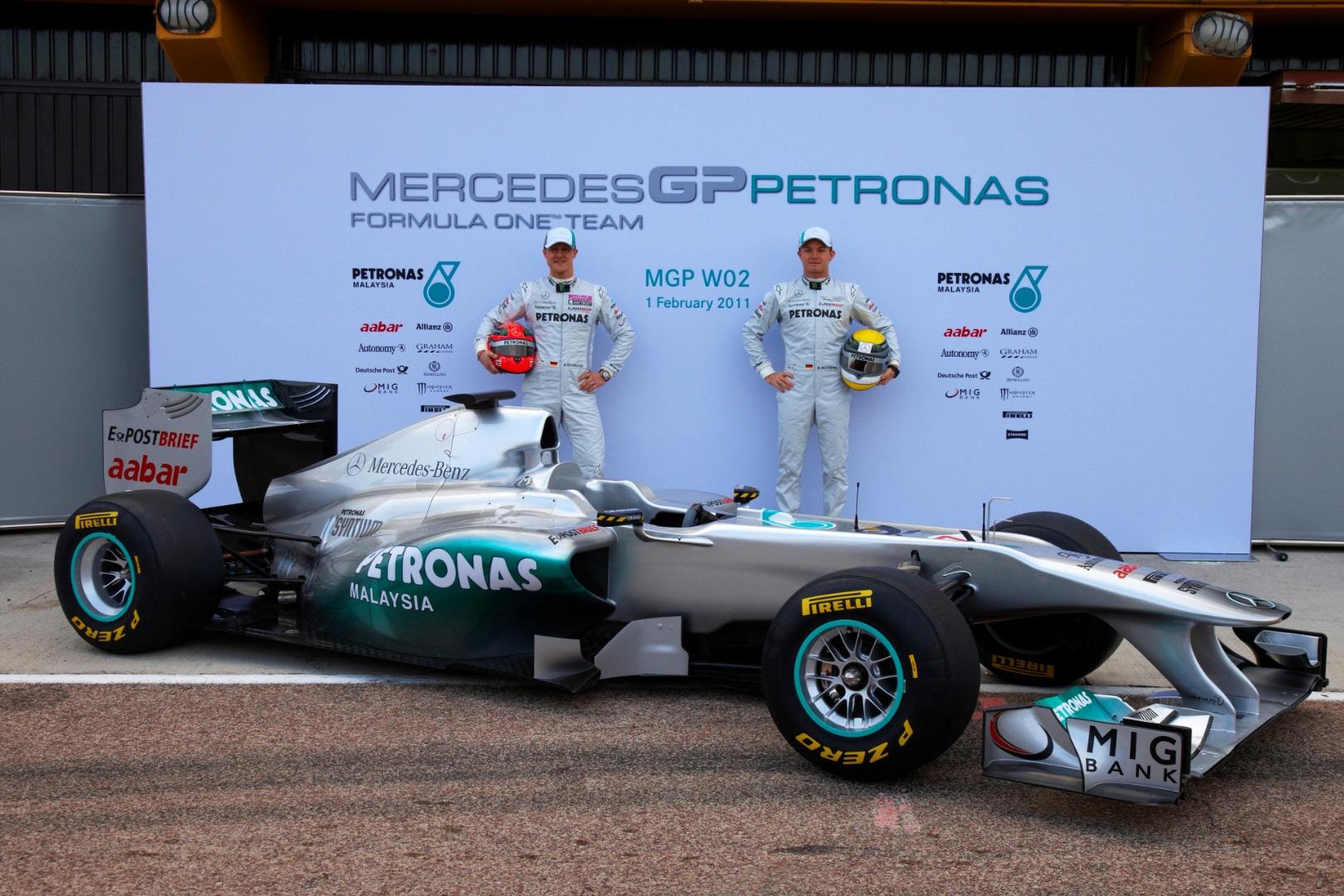 Foto Mercedes GP
