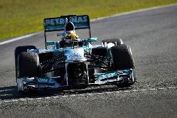 Mercedes F1 W04