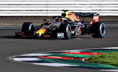 Aston Martin Red Bull Racing RB16 Filming Day
