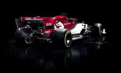 Alfa Romeo Sauber F1 Team C38