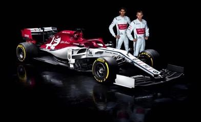 Alfa Romeo Sauber F1 Team Raikkonen Giovinazzi C38